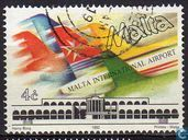 Postage Stamps - Malta - Airport