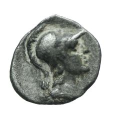 Greek Antiquity - Cilicia, Uncertain mint. Circa 4th century BC. AR Obol   9mm, 0,76gr
