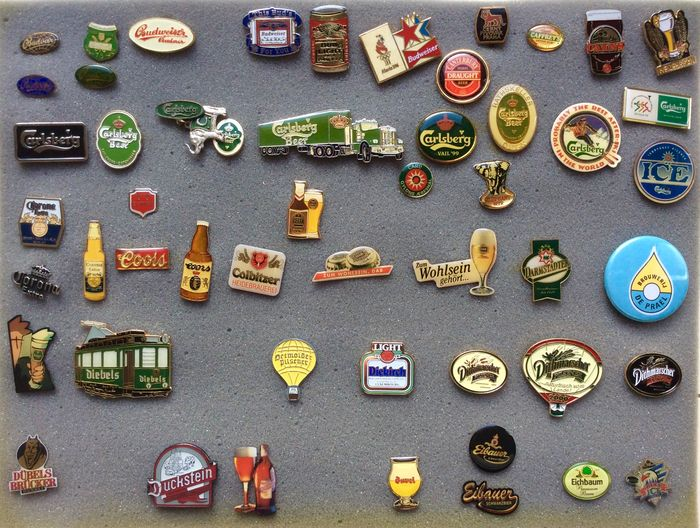 Lot Collection beer pinspin 619 pieces different brands 15