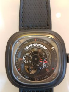SevenFriday P3-1 racer - heren polshorloge - 2015