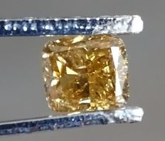 Orange diamond precious stone –1.01 ct