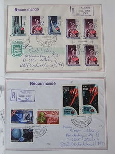 Baltic States 1918/2004 - Collection in albums and on sheets