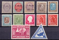 Iceland - Selection with i.e. Michel  216 B
