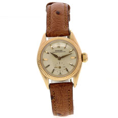 Rolex Oyster Perpetual women's watch.