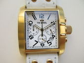Check out our TW Steel ref.: TW107 chronograph – Goliath white unisex wristwatch – never worn