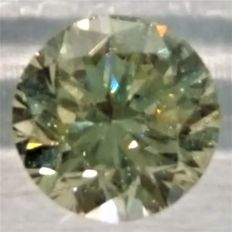Brilliant cut diamond, 0.65 ct, M – P1.