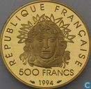 "France 500 francs 1994 (PROOF) ""1996 Olympics"""