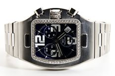 Voltime Meta XL Hand Made 58 Full River Diamonds 1.50CT - Jewelry Timepiece