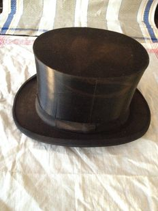 Rare top hat - August Schürer - Germany - beginning of the 20th century