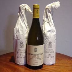 1996 Domaine Bonneau du Martray Corton-Charlemagne Grand Cru - 3 bottles.(75cl) - 3 bottles