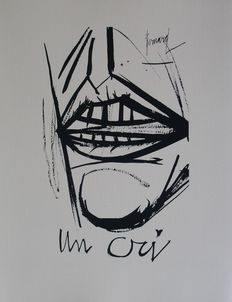 Bernard Buffet (after) - Un cri
