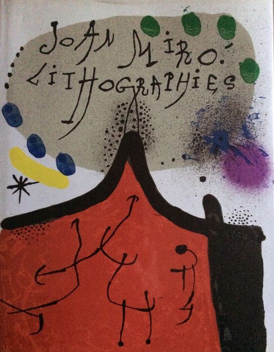 Joan Miró - Lithographs. Volume I - 1975
