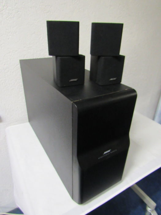 bose acoustimass 10 series ii home theater speaker set catawiki. Black Bedroom Furniture Sets. Home Design Ideas
