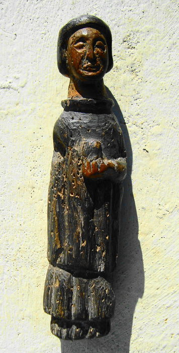Saintly figure made of wood - 18th century - Portugal