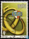Briefmarken - Malta - Union in 50 Jahren