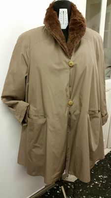 Dellera - Raincoat - Genuine fur - Made in Italy