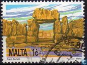 Postage Stamps - Malta - Temple of Mgarr