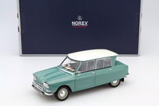 Norev - Scale 1/18 - Citroën Ami 6 1964 - Green