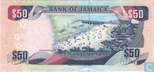 "Banknotes - Jamaica - 2000-2004 ""Hummingbird Watermark"" Issue - Jamaica 50 Dollars 2004"