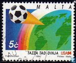 Briefmarken - Malta - World Cup Soccer
