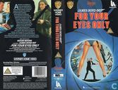 DVD / Video / Blu-ray - VHS video tape - For Your Eyes Only