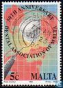 Postage Stamps - Malta - Dental Association 50 years