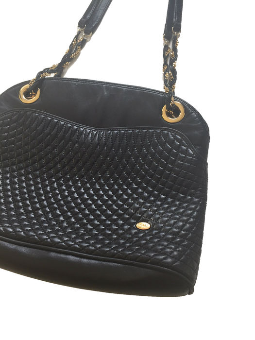 Bally Quilted Chain Shoulder Bag Vintage Catawiki