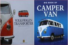 2 Books on Volkswagen Transporter