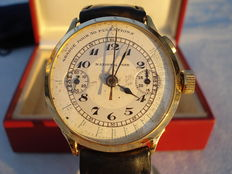National Park brand Gallet men's chronograph - 1920s - Very rare