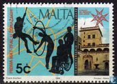 Postzegels - Malta - Due of Edinburgh Award
