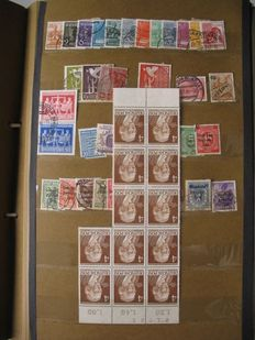 Europe and Germany -rummage post in 3 albums with many old stamps