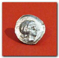 Lycia - Lycian League - Greek Silver Hemidrachm, 1st century B.C. 1.6 cm