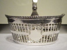 Silver wool basket or tangle basket, Postmus, Hoorn, 1912
