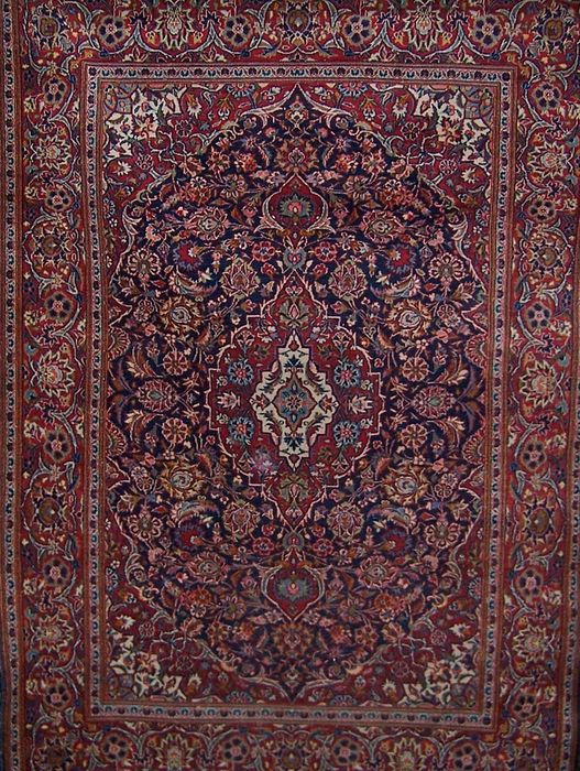 tapis persan ancien kashan iran xxe si cle catawiki. Black Bedroom Furniture Sets. Home Design Ideas