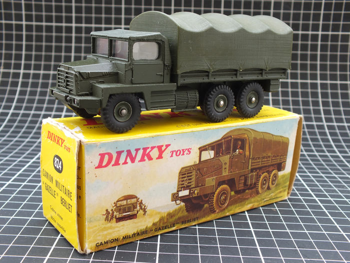 dinky toys chelle 1 48 camion militaire berliet gazelle catawiki. Black Bedroom Furniture Sets. Home Design Ideas
