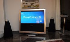BeoVision 9-50 plasma TV on motorised floor stand