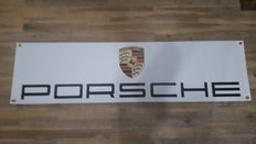 Porsche banner dealer workshop - 130 x 35 cm