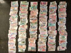 World - Collection of 600 notes from around the world