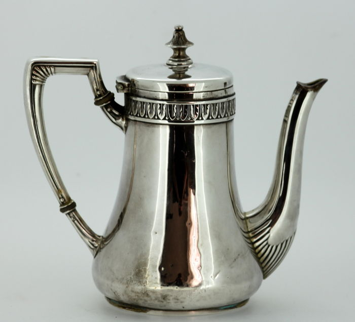 Small Silver Tea Pot Made In Germany 1869 Made By Wilhelm Binder