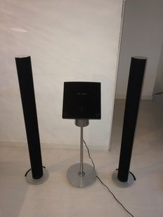 Bang en olufsen set Beosound 4 soundsysteem met beolab 6000 speakers
