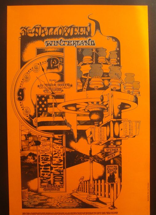 John Mayall / Canned Heat  Halloween 1968 Winterland San Francisco 1968 Family Dog