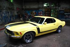 Ford - Mustang BOSS 302 - 1970