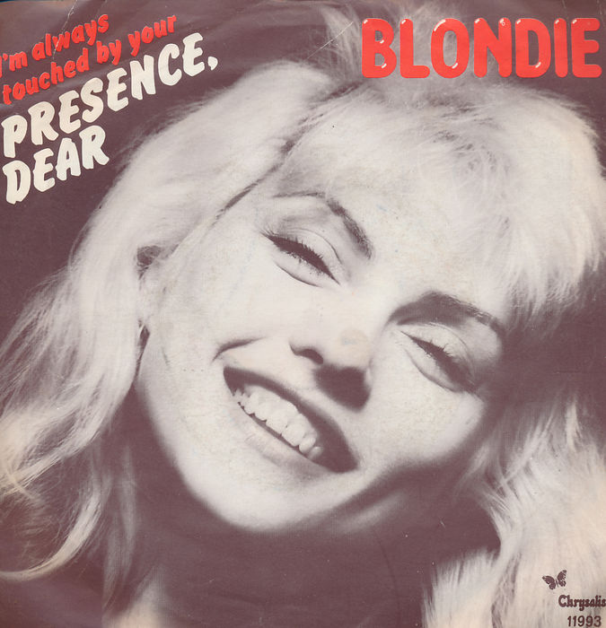 new wave legends Blondie, beautiful collection of 18 original seven inch singles