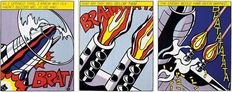 Roy Lichtenstein (after) - As I Opened Fire