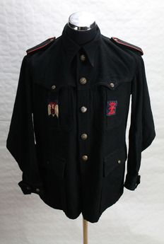 Winter jacket of an old ex-divisional from the Spanish phalanx blue division
