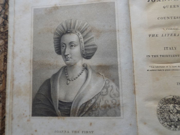 Historical Life of Joanna of Sicily, Queen of Naples and Countess of Provence - 2 Volumes - 1824