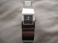 LACOSTE 6000 Steel bracelet ladies Swiss wrist watch – c.1990s