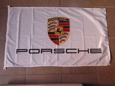 Porsche Official Dealer flag - 150 x 50 cm