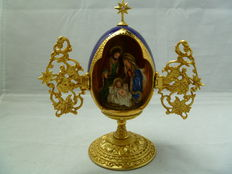 Franklin Mint, House of Faberge A King is born Faberge ei, Malysie - Tweede helft 20e eeuw