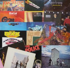 15 great 70's classic albums by; The Who, Pink Floyd, Elton John, The Police, Cheap Trick, Santana, Lou Reed, 10cc, The Eagles, ELO, Supertramp, Meatloaf, Blondie, etc